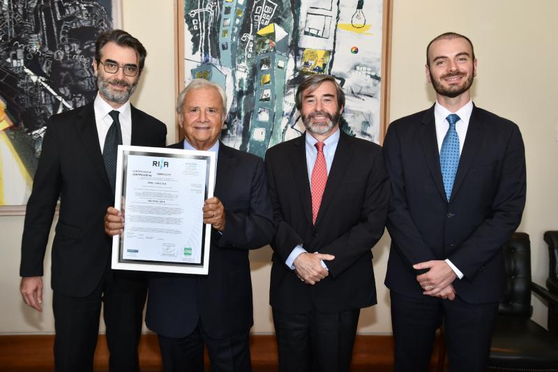 Enel Chile y Enel Generación Chile son las primeras eléctricas del país en certificar su sistema de gestión antisoborno