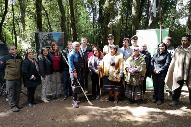 Comunidad Mapu Pilmaiquén y Enel Green Power Chile inauguran Parque La Isla – Salto La Olla