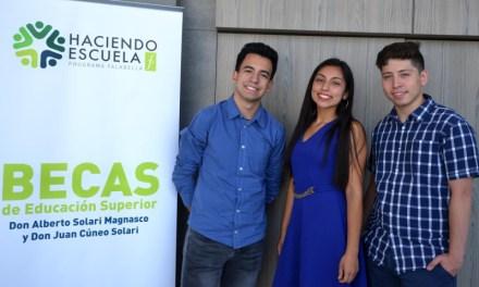 Falabella realizó entrega de becas de educación superior 2019