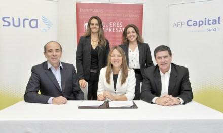 SURA, AFP Capital y Mujeres Empresarias renuevan alianza de colaboración