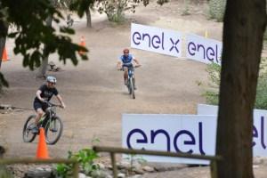 Enel X realizó activación urbana de electromovilidad en el Parque Metropolitano