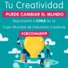 Ya abrió concurso para representar a Chile en la Copa Mundial de Industrias Creativas