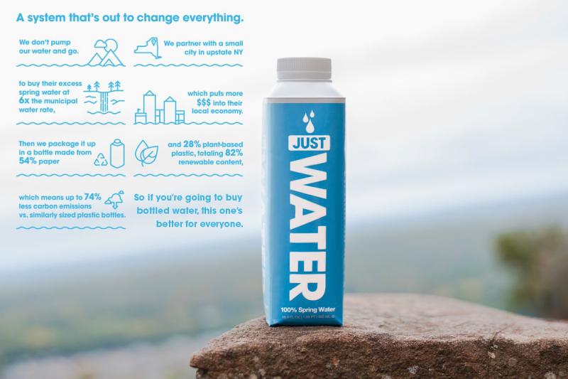 JUST Water una alternativa justa con el medio ambiente