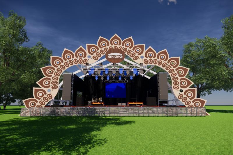 Lollapalooza presentará el primer escenario energizado 100% con energía solar