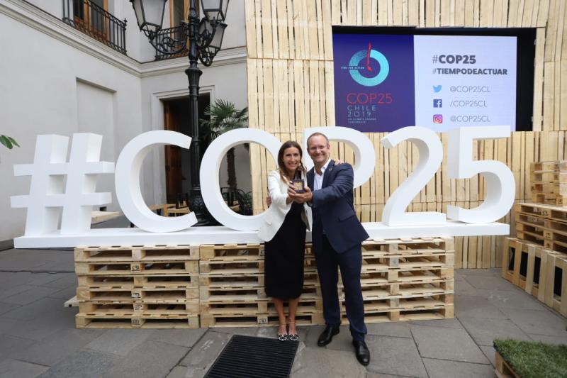 Co-Fundador de TriCiclos es elegido Champion de la COP25