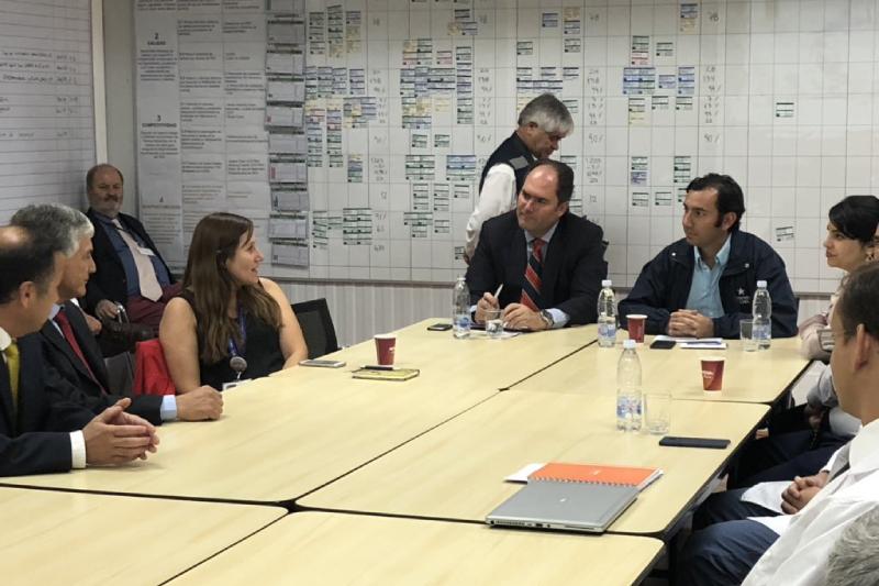 Ministro del Trabajo (s) destaca políticas de inclusión de planta de San Fernando de Nestlé