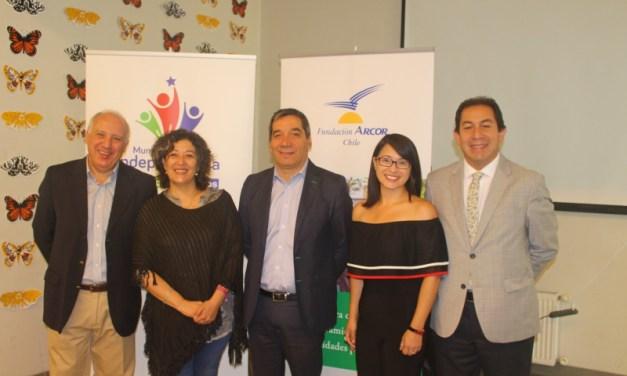 """Alianza público- privada, entre la Municipalidad de Independencia y Fundación Arcor Chile implementará programa """"Aprendiendo a Disfrutar"""""""