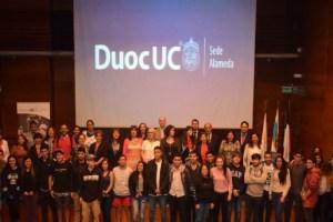 Alumnos de Duoc UC realizarán levantamiento de planes de emergencia en Santiago Centro