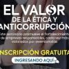 """Seminario """"El Valor de la Ética y Anticorrupción"""""""