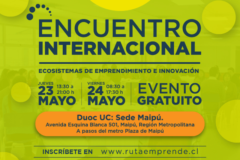Encuentro Internacional de Ecosistemas de Emprendimiento e Innovación Ruta Emprende