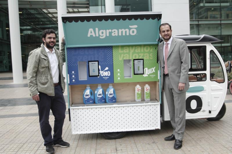 Algramo presenta nuevos envases inteligentes, reutilizables y sustentables
