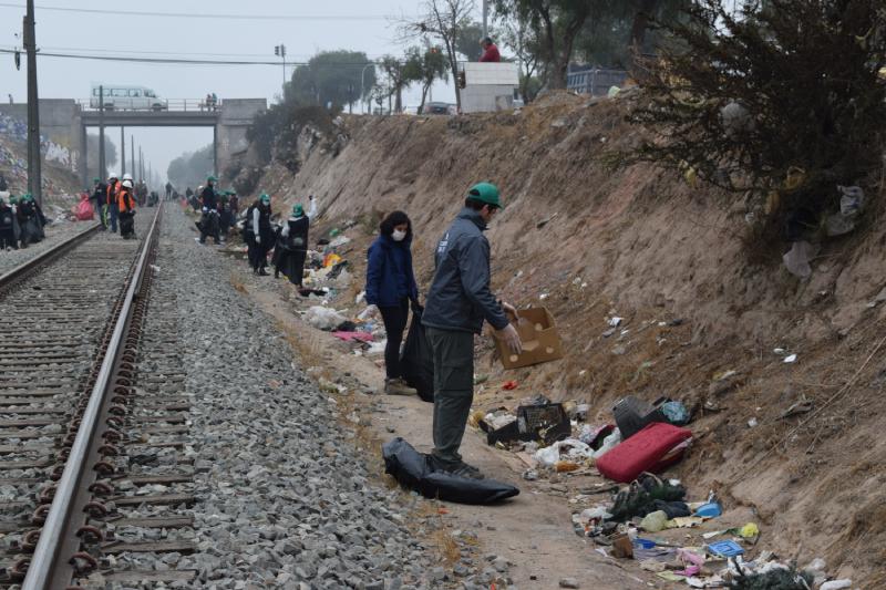En Cerrillos Seremi del Medio Ambiente RM lanza Campaña Trash Challenge #RumboCOP25