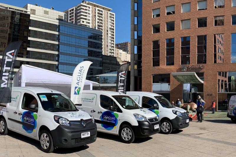 Aguas Andinas tendrá la flota de vehículos eléctricos operativos más grande del país