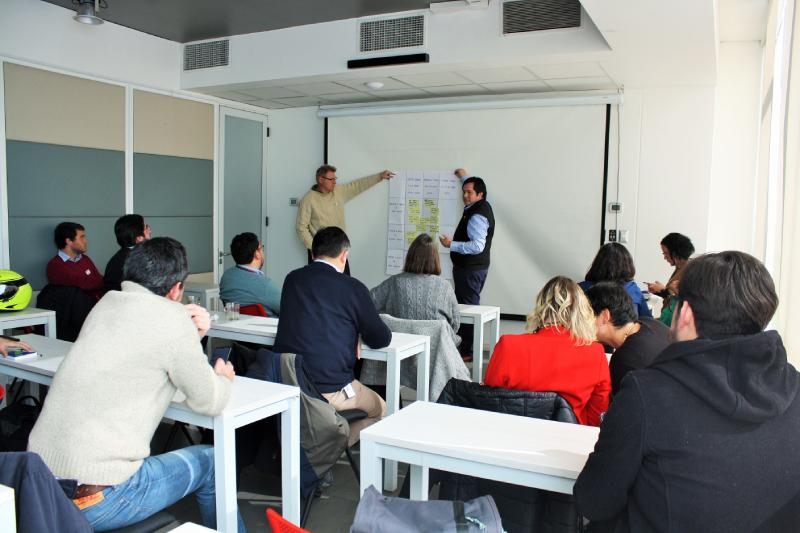 Chile GBC organizó taller sobre cambio climático con sus empresas socias