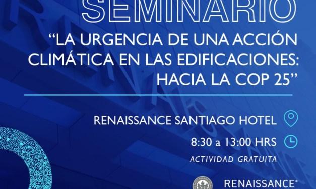 Renaissance Santiago destaca la importancia de edificaciones sustentables a través de seminario gratuito