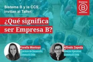 Taller: ¿Qué significa ser Empresa B?