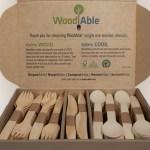 Compañía Chilena de Fósforos lanza cubiertos de madera sustentable y estrena nueva imagen