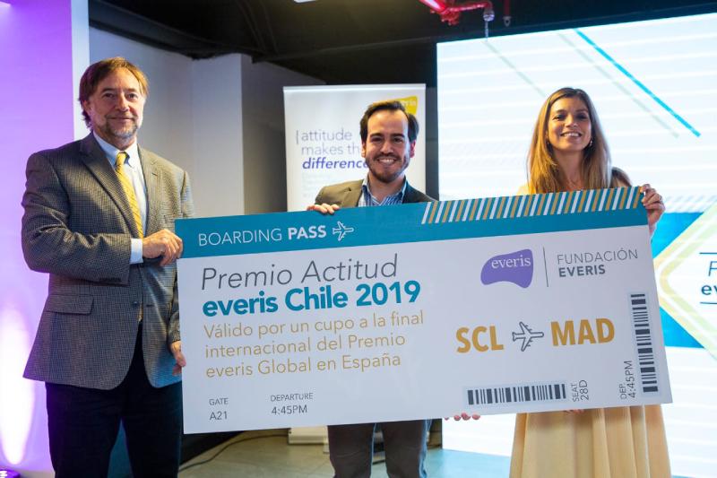 Emprendimiento de inclusión Vi-Sor ganó Premio Actitud de la Fundación everis