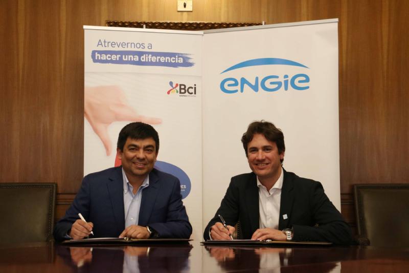 ENGIE y Bci sellan importante acuerdo de suministro de energía 100% renovable