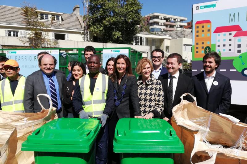 Nestlé Chile impulsa pionero programa que busca aumentar a un 40% el reciclaje domiciliario en Providencia