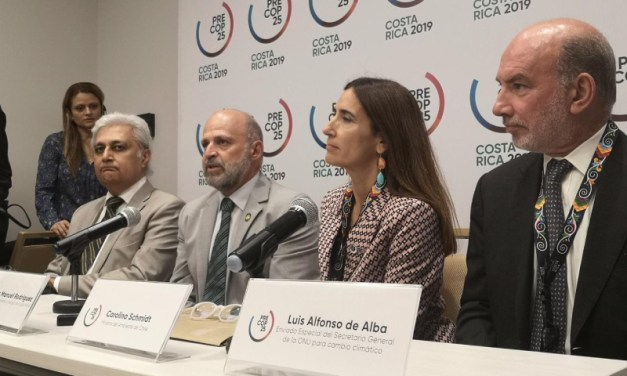 Ministra Schmidt hace un llamado para que los países, gobiernos locales y mundo privado lleguen con compromisos concretos a la COP25 Chile