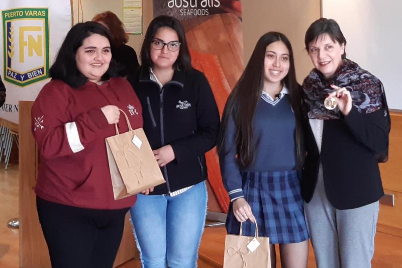 Programa de Mentoring de  Australis busca potenciar a los alumnos del colegio Felmer Niklitschek de Puerto Varas