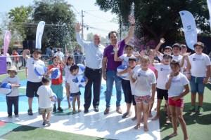 Aguas Andinas inaugura Plazas del Agua y refuerza el llamado a disminuir la apertura ilegal de grifos