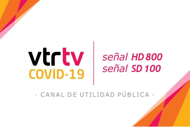 VTR, Ministerio Secretaría General de Gobierno y Subtel lanzan canal exclusivo con contenido educativo para prevenir Covid 19
