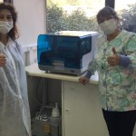 Empresa Arauco facilita equipo de alta tecnología para detección temprana de Coronavirus