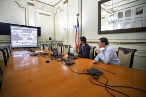 Autoridades de la RM reciben recomendaciones de los alcaldes de las megaciudades del mundo para enfrentar la pandemia del Coronavirus
