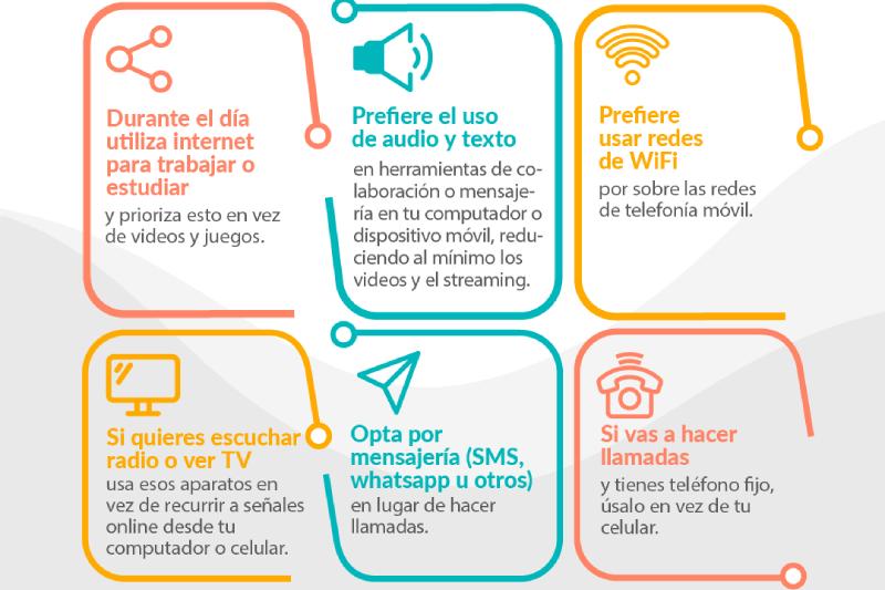 ATELMO hace llamado al uso responsable de las redes de telecomunicación con seis consejos para personas en sus hogares