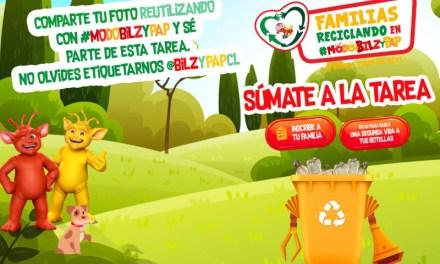 Tarea Teletón: Bilz y Pap invita a todas las familias a reutilizar sus botellas plásticas