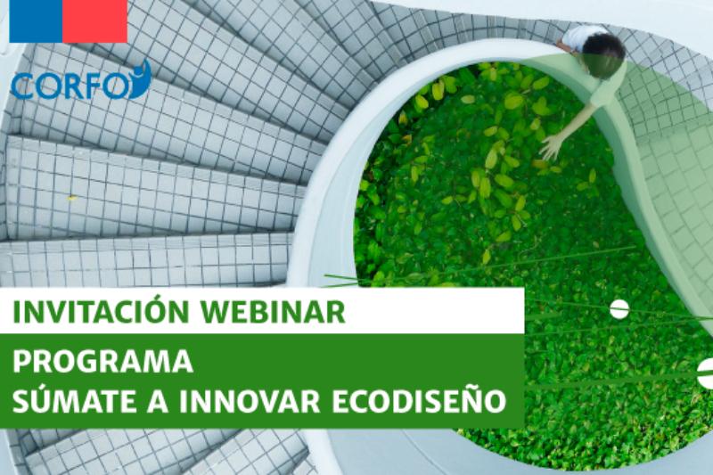 Webinar Facebook Live de CORFO: Súmate a Innovar con foco en Ecodiseño