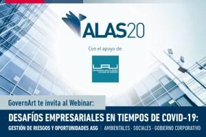 """GovernArt organizará webinar sobre """"desafíos empresariales en tiempos de COVID-19"""""""