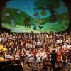 """Teatro del Lago transmitirá la """"Cantata de los oficios"""" obra protagonizada por 300 niños del sur de Chile"""