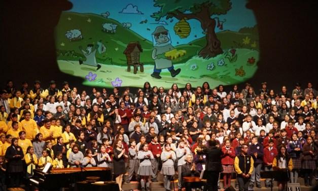 """Teatro del Lago transmitirá la «Cantata de los oficios"""" obra protagonizada por 300 niños del sur de Chile"""