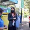 Ministra Schmidt y alcaldesa Matthei llaman a no reciclar mascarillas por peligro de contagio de Covid-19