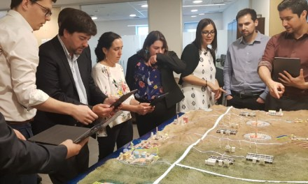 Presentan maqueta interactiva sobre el camino de Chile a la carbono neutralidad