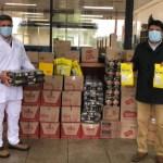 Nestlé Chile entrega cerca de 300 kilos de alimentos a familias de llanquihue