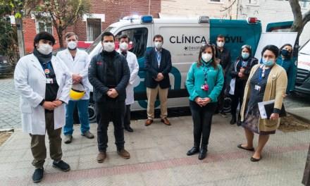 Desafío Levantemos Chile y Clínica Alemana entregan dos clínicas móviles para apoyar labores del Servicio de Salud Metropolitano Norte