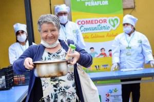 Municipalidad de Peñaflor inaugura comedor comunitario para apoyar a sus vecinos en medio de crisis económica