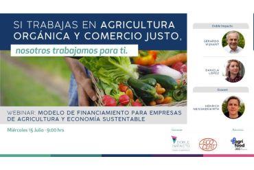Banca Ética promueve financiamiento de agricultura y economía sustentable