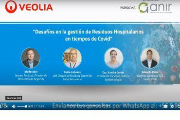 Revive el webinar de Veolia: Desafíos en la Gestión de Residuos Hospitalarios en tiempos de Covid