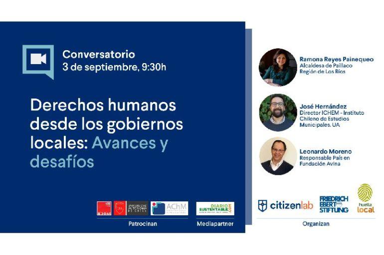 """Conversatorio """"Derechos humanos desde los gobiernos locales: Avances y desafíos"""""""
