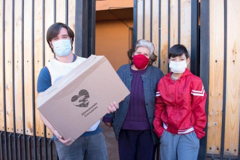 """P&G Chile se suma a la campaña """"Alimentando Corazones"""" a través de la donación de productos de cuidado capilar y detergentes"""