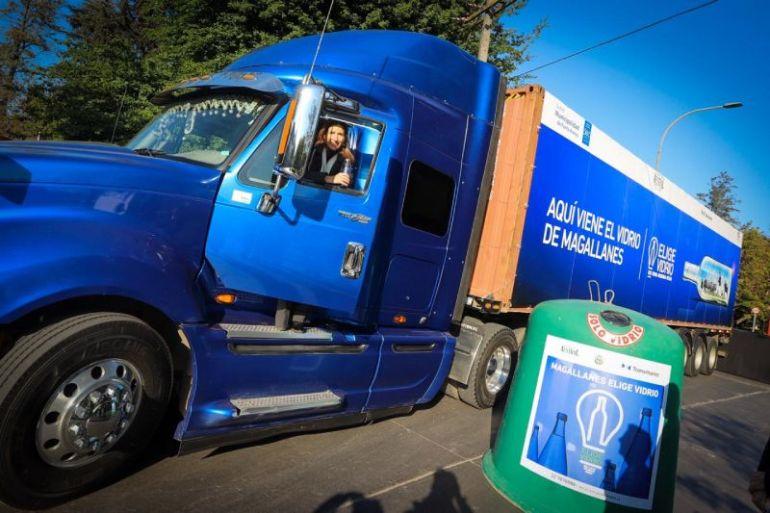 Magallanes Elige Vidrio alcanza 1.000.000 de botellas recicladas