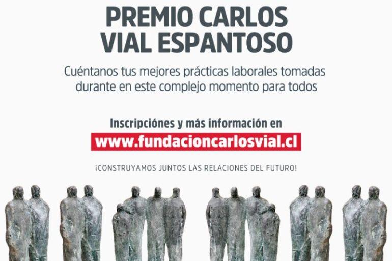 Grandes empresas de Chile están invitadas a participar en la -Edición Especial 2020 – Premio Carlos Vial Espantoso