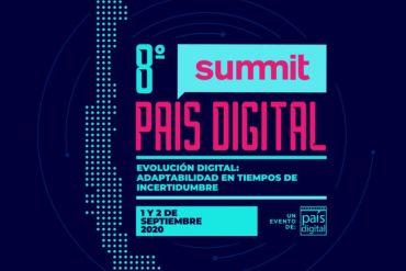 VIII Summit Fundación País Digital 2020: evento reunirá a expertos para debatir sobre la digitalización de empresas en tiempos de pandemia