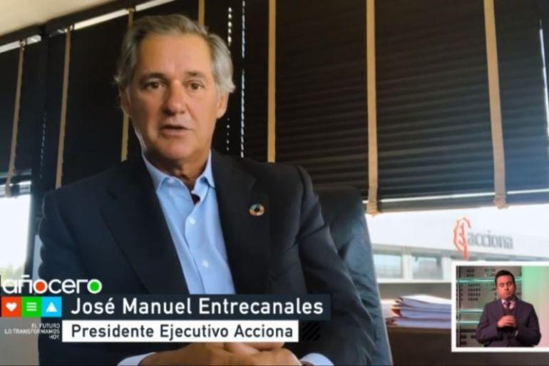 """José Manuel Entrecanales, presidente de ACCIONA en foro de Acción Empresas: """"La sostenibilidad es una obligación y una oportunidad para las empresas"""""""