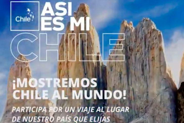 """""""Así es mi Chile"""": la campaña que te invita a concursar compartiendo lo que más te gusta del país en estas Fiestas Patrias"""
